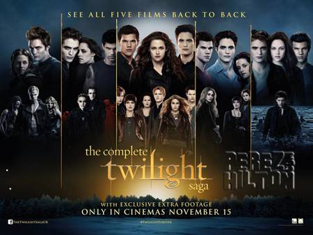 Twilight Saga New Moon Eclipse Breaking Dawn Part 1 Part 2