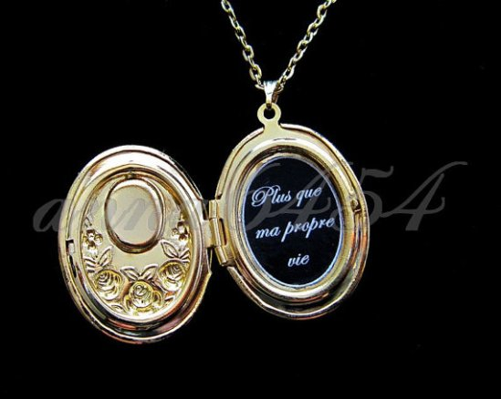 Renesmee's locket Breaking Dawn Part 2 Twilight