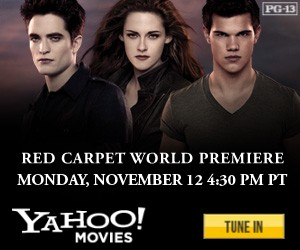 Breaking Dawn Part 2 Yahoo! Movies Livestream