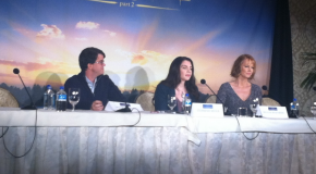 Stephenie Meyer Wyck Godfrey Melissa Rosenberg Twilight Saga Breaking Dawn Part 2 Press Conference
